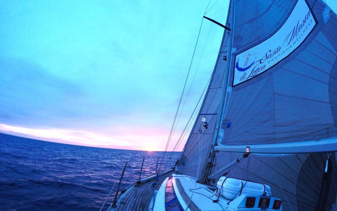 Corso di vela su cabinato